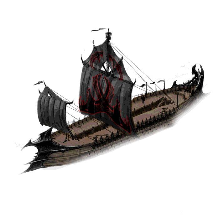 Sklavenschiff